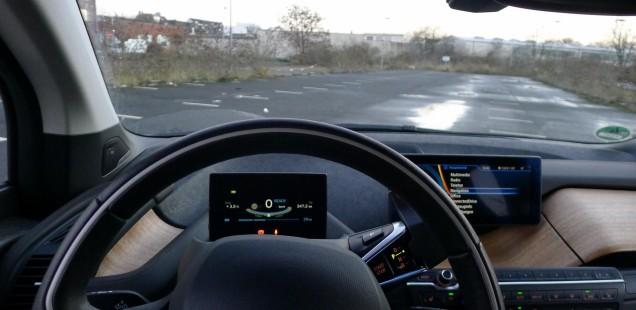 BMW i3 Fahrer-Ansicht