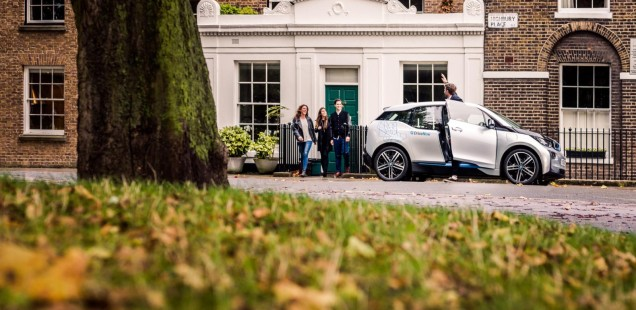 DriveNow BMW i3 London 2